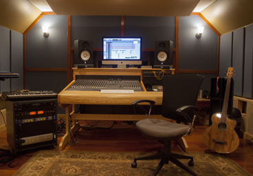 Rocking Horse Studio - Inside Pic of Recording Studio